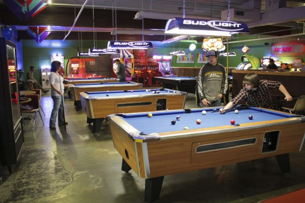 Billiard Hall at Emerald Lanes