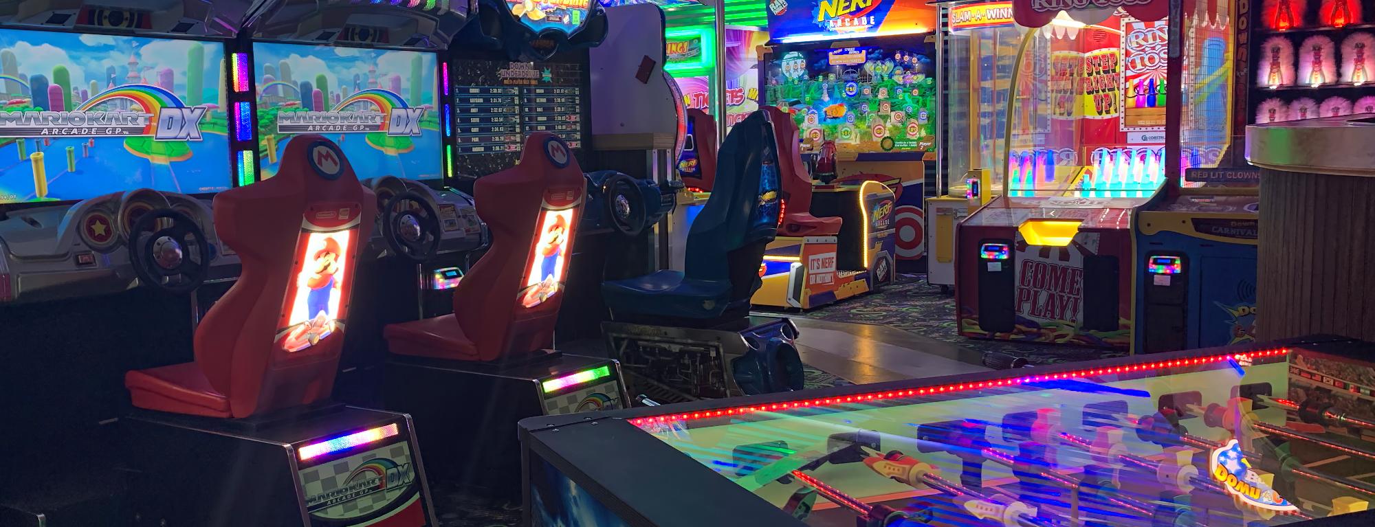 Arcade Room At Emerald Lanes