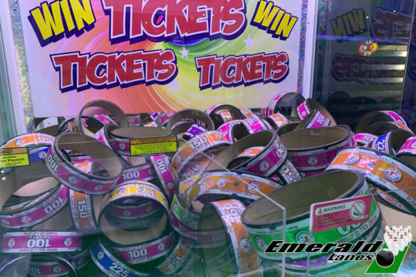 Ticket Rings at Emerald Lanes